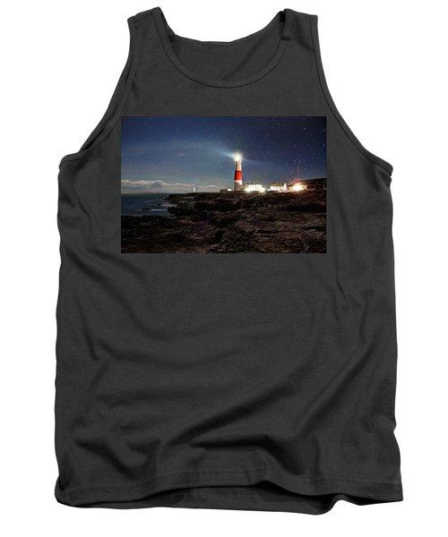 Portland Bill Lighthouse Uk Tank Top