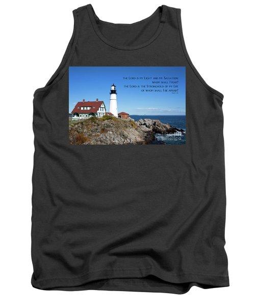 Portland Head Lighthouse Tank Top