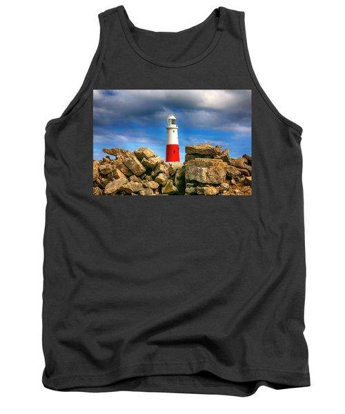 Portland Lighthouse, Uk Tank Top