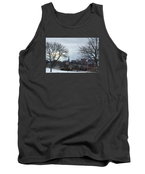 Portland, Maine, My City By The Bay Tank Top