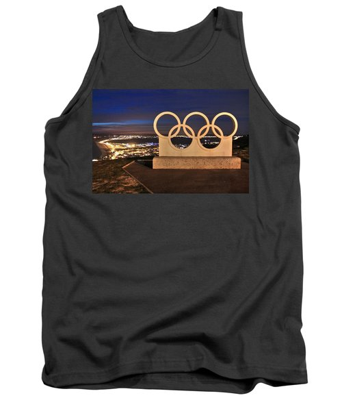 Portland Olympic Rings Tank Top