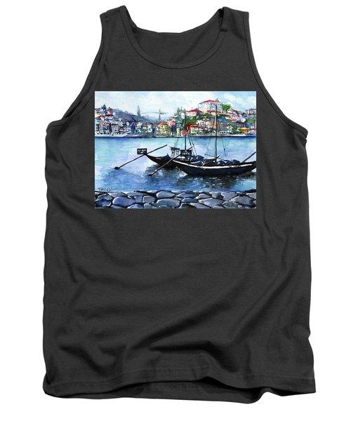 Porto Rabelo Boats Tank Top
