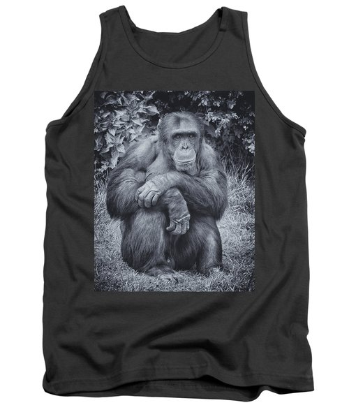 Portrait Of A Chimp Tank Top