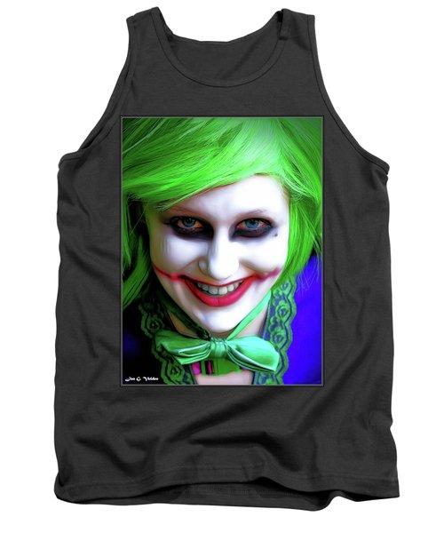 Portrait Of A Joker Tank Top