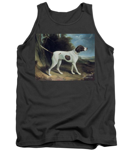 Portrait Of A Liver And White Pointer Tank Top