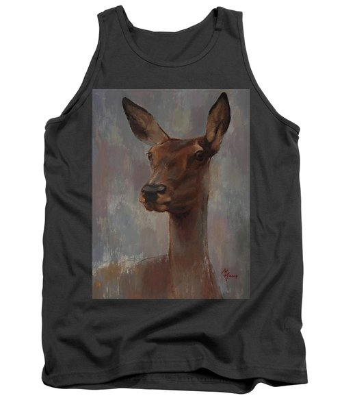 Portrait Of A Young Doe Tank Top