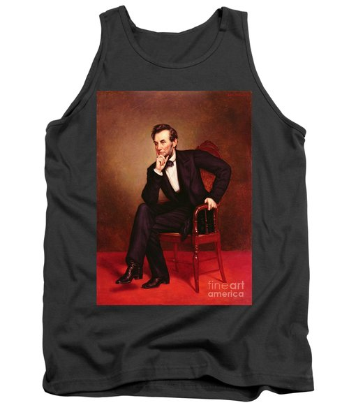 Portrait Of Abraham Lincoln Tank Top