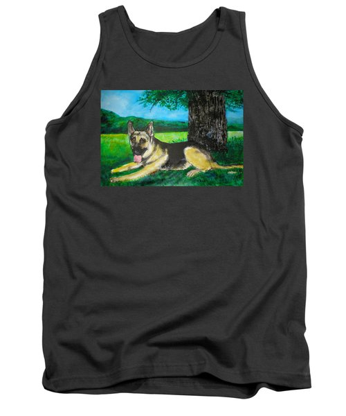 Portrait Of Edy Tank Top