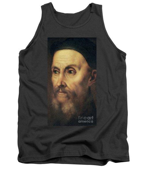 Portrait Of John Calvin Tank Top