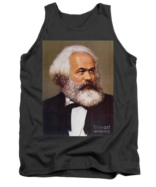 Portrait Of Karl Marx Tank Top
