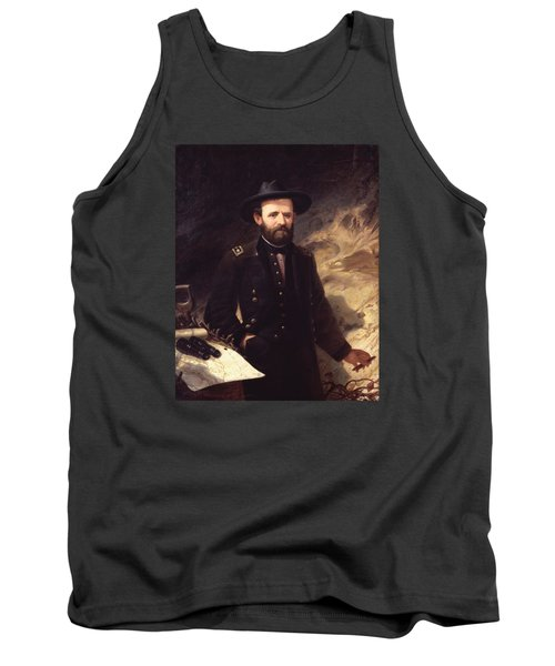 Portrait Of Ulysses S. Grant Tank Top