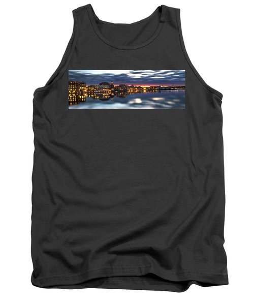 Portsmouth Waterfront Panorama Tank Top
