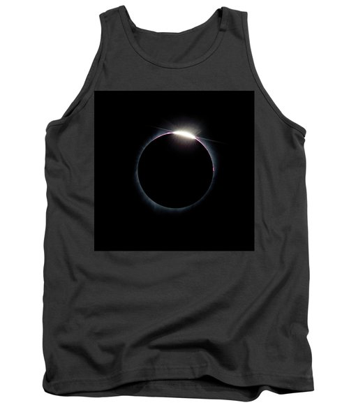 Post Diamond Ring Effect Tank Top