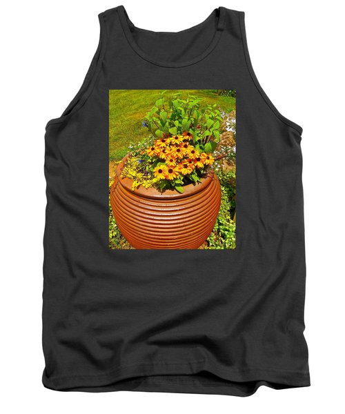 Tank Top featuring the photograph Pot O' Gold by Randy Rosenberger