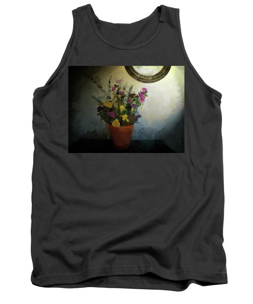 Potted Flowers 2 Tank Top