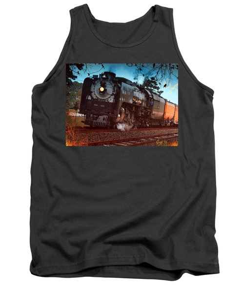 Pounding Up The Texas Grade Tank Top by J Griff Griffin