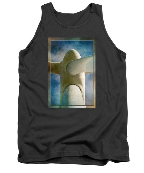 Tank Top featuring the photograph Power 7 by WB Johnston