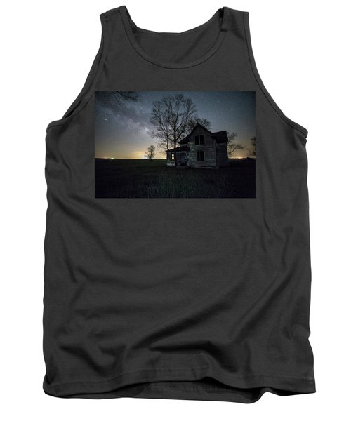 Prairie Gold And Milky Way Tank Top