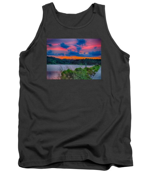 Pre-sunset At Hbsp Tank Top by Bill Barber