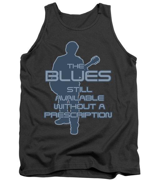 Prescription Blues T Shirt Tank Top by WB Johnston