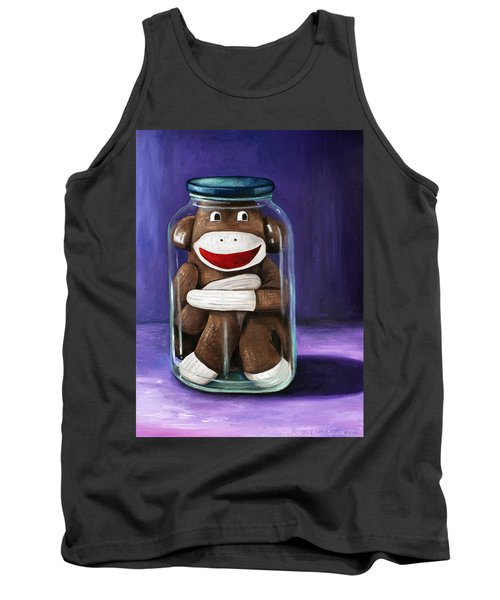 Preserving Childhood 3 Tank Top by Leah Saulnier The Painting Maniac