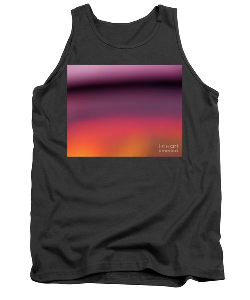 Tank Top featuring the photograph Pretend Sunset by CML Brown