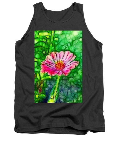 Pretty Flower Tank Top