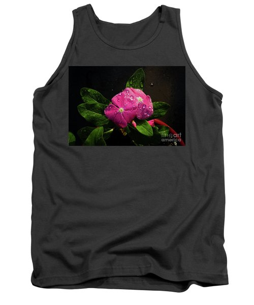 Tank Top featuring the photograph Pretty In Pink by Douglas Stucky