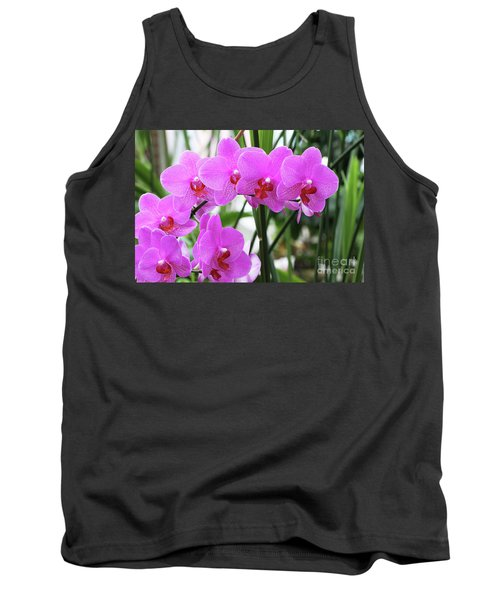 Pretty Pink Phalaenopsis Orchids #2 Tank Top