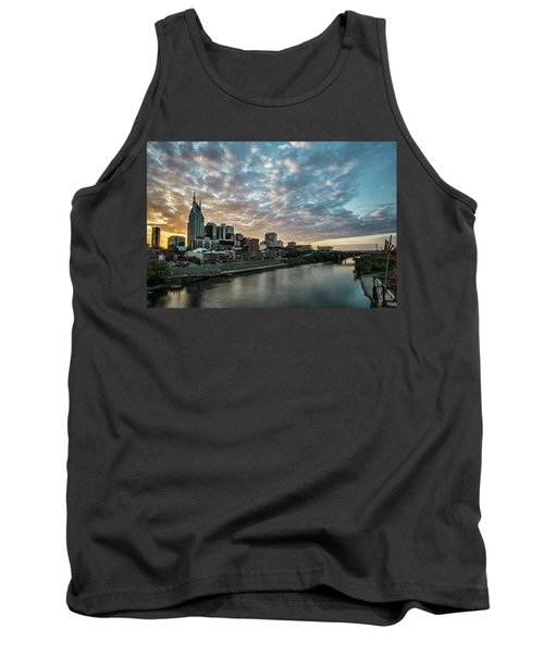 Pretty Sky And Nashville Skyline Tank Top