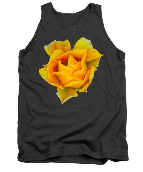 Prickly Pear Flower H11 Tank Top by Mark Myhaver