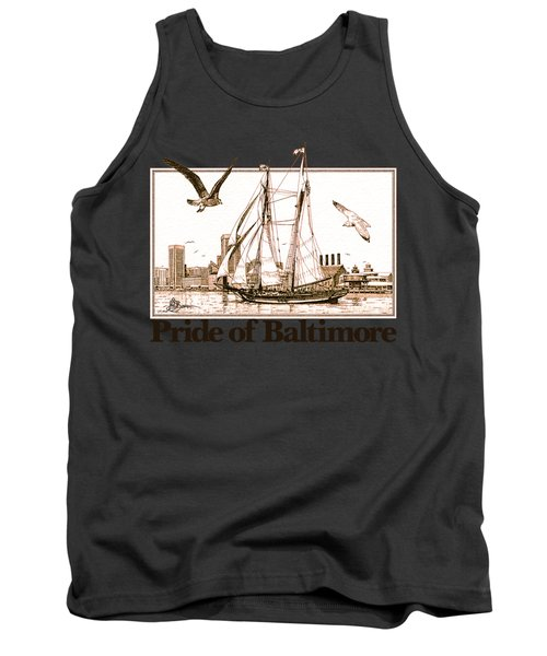 Pride Of Baltimore Shirt Tank Top