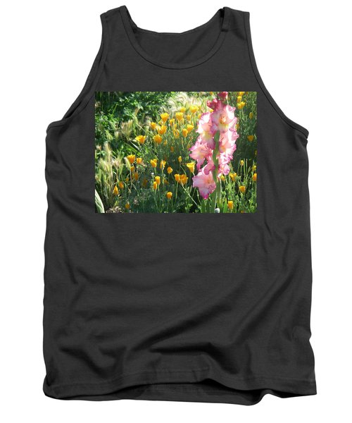 Priscilla With Poppies Tank Top