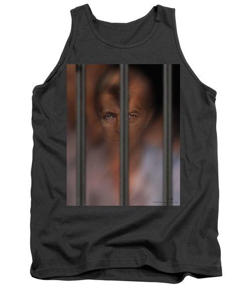 Prisoner Of Love Tank Top by Pedro L Gili