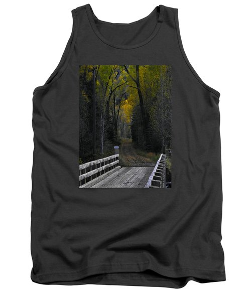 Privacy Tank Top by Laura Ragland