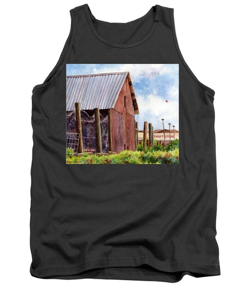Tank Top featuring the painting Progression by Anne Gifford