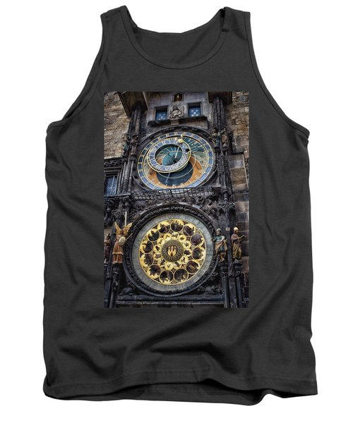 Progue Astronomical Clock Tank Top by Sheila Mcdonald