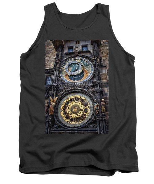 Progue Astronomical Clock Tank Top