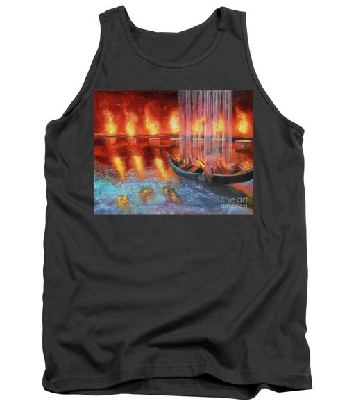 Prophetic Message Sketch 45 Preparing For The Day Tank Top