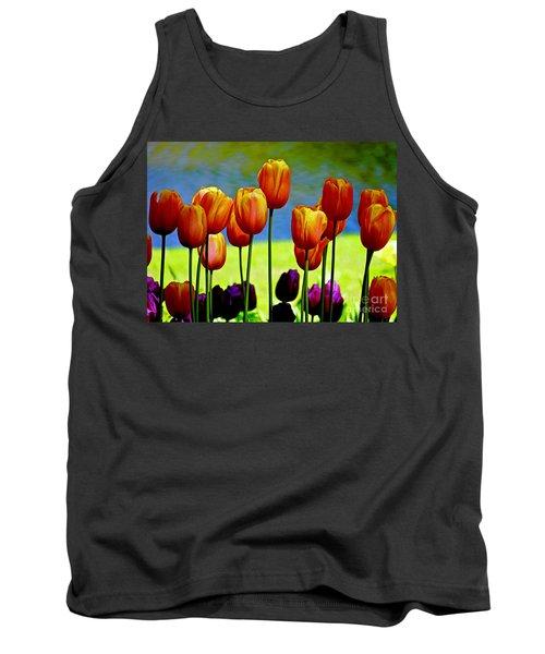 Proud Tulips Tank Top