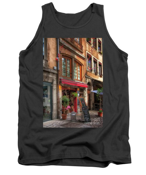 French Cafe Tank Top