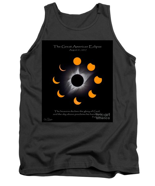 Psalm Nineteen Solar Eclipse Tank Top