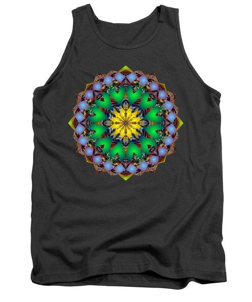 Psychedelic Mandala 003 A Tank Top by Larry Capra