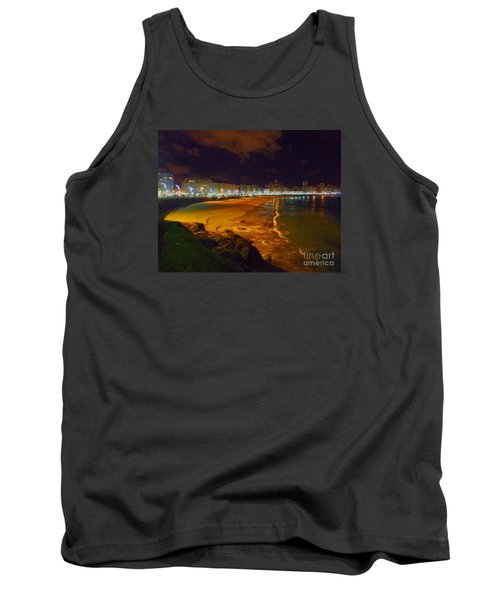 Puerto Rico Beach Tank Top by Andrew Middleton
