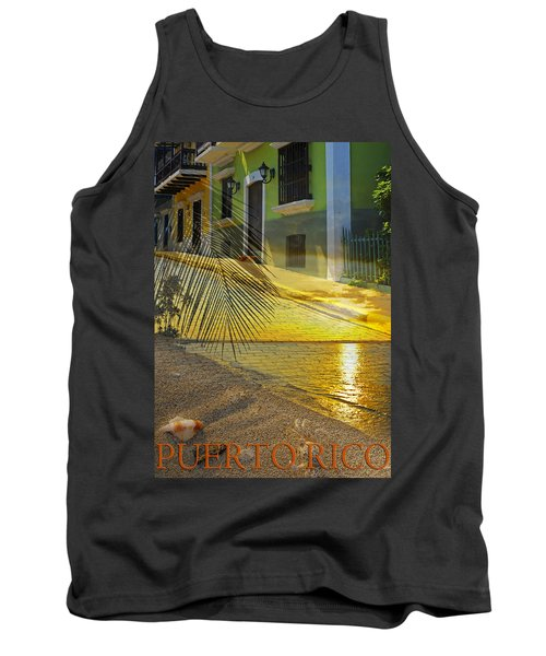 Puerto Rico Collage 3 Tank Top