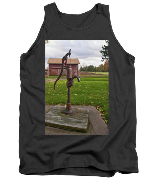 Tank Top featuring the photograph Pump 13951 by Guy Whiteley