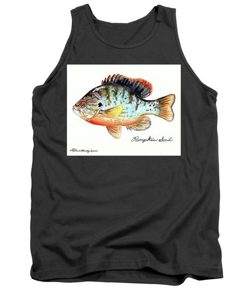 Pumpkin Seed Fish Tank Top by LeAnne Sowa