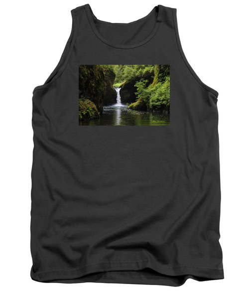 Punchbowl Falls Signed Tank Top