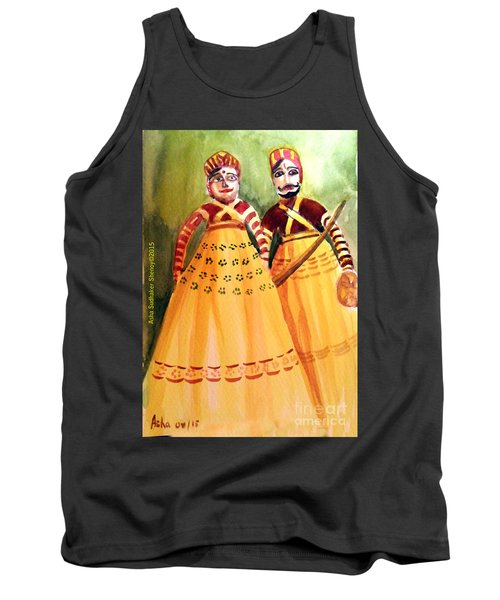Puppets Of India Tank Top