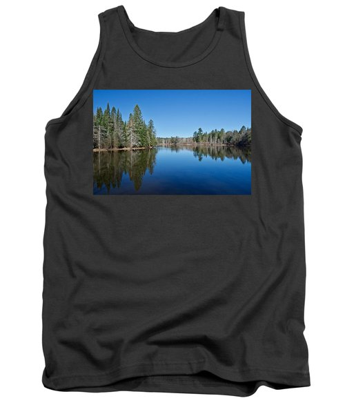 Tank Top featuring the photograph Pure Blue Waters 1772 by Michael Peychich